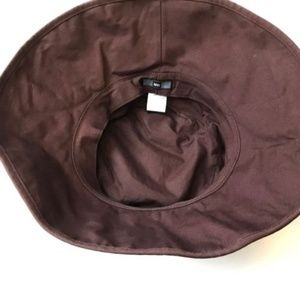 537bdcfac54 REI Accessories - Brown REI Bucket Hat Embroidered Flowers Large XL